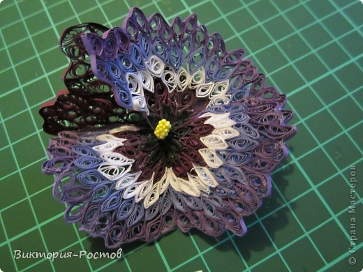 Сказочный цветок МК фото 14