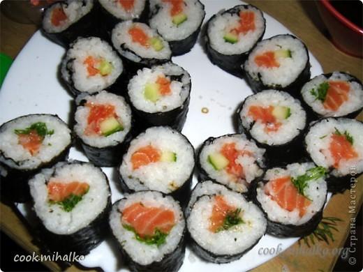 Вкусные суши своими руками