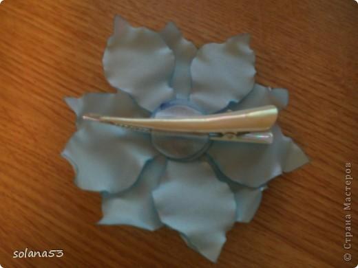 Цветочек делала к первому сентябру,так как у меня мальчик подарю крестнице,пусть будет самой нарядной)))) фото 5