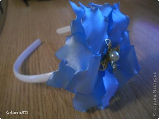 Цветочек делала к первому сентябру,так как у меня мальчик подарю крестнице,пусть будет самой нарядной)))) фото 6