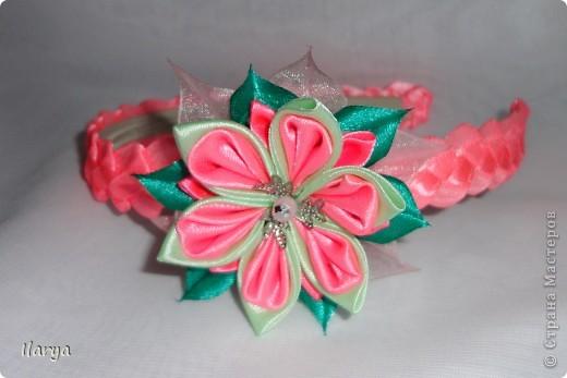 картинки цветы из лент:
