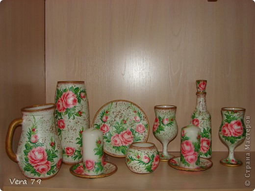 Набор ваз делался на подарок фото 1