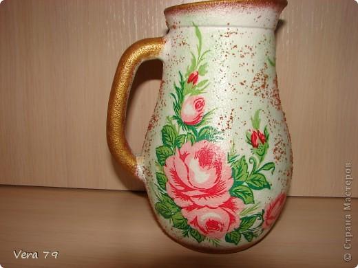 Набор ваз делался на подарок фото 15