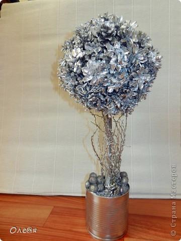 ну вот золотое дерево у меня есть захотелось и серебрянное фото 1