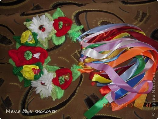 Венок для доции Викули на роль Весны в школе на праздник Масленицы фото 1