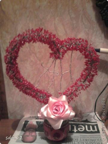 Делала подарок на свадьбу маминой подруги... вроде ничего так вышло, огромное спасибо  Анастасии Кена за ее столь подробный МК, который я постаралась воплотить в жизнь)) Ссылка на МК: http://stranamasterov.ru/node/238479?c=favorite фото 2
