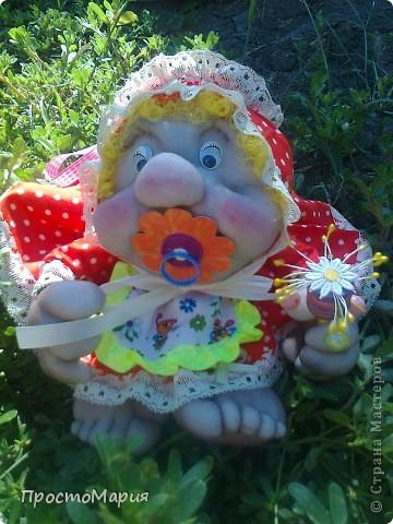 Тётя Фрося - моя первая кукляшка))) фото 3