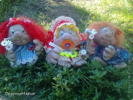 Тётя Фрося - моя первая кукляшка))) фото 4