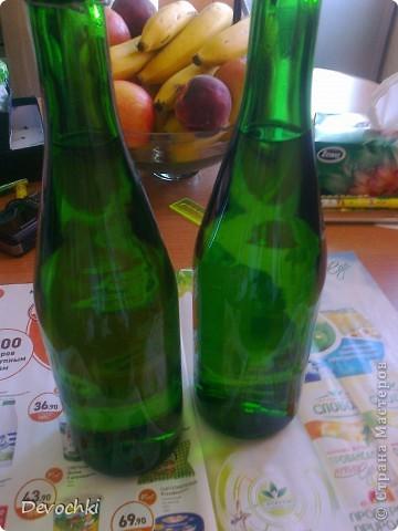 МК по декору бутылочки за 30 минут (быстрый подарок) фото 2