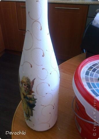МК по декору бутылочки за 30 минут (быстрый подарок) фото 10