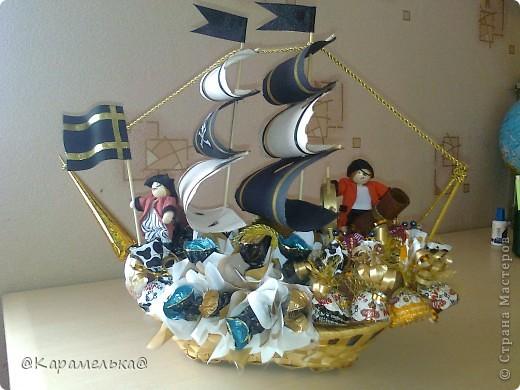"""Пиратский корабль """" Поиск мастер классов, поделок своими руками и рукоделия на SearchMasterclass.Net"""