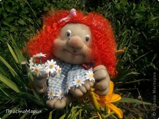 Тётя Фрося - моя первая кукляшка))) фото 2