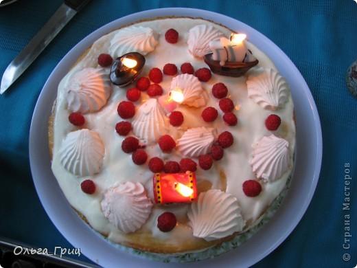 Такой тортик делала сынуле на день рождения! фото 1