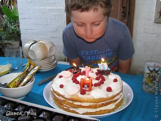 Такой тортик делала сынуле на день рождения! фото 7