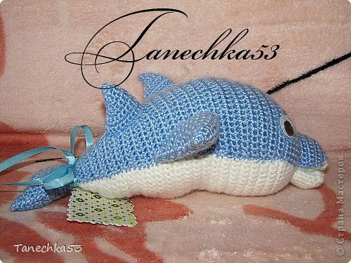 Вязание крючком Дельфин