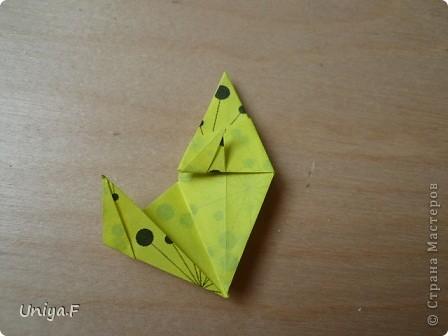 Здравствуйте все-все-все!!!  Сегодня по-быстрому выложу туториал на очередной шипастик.  Name: Donna Flor  Designer: Uniya Filonova  Units: 30  Paper: 4*12 cm (1:3) Final height: ~ 9 cm  Joint: no glue  Опытным путем доказано, что из бумаги меньшего размера (3*9 например) сделать кусудаму непросто, лепестки получаются очень маленькими и раскрываются с большим трудом. фото 20