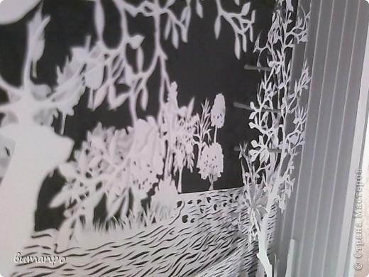 Картина панно рисунок Валентинов день День матери День рождения День семьи Бумажный туннель Вырезание Сказочный пейзаж   Бумага Картон Клей фото 13