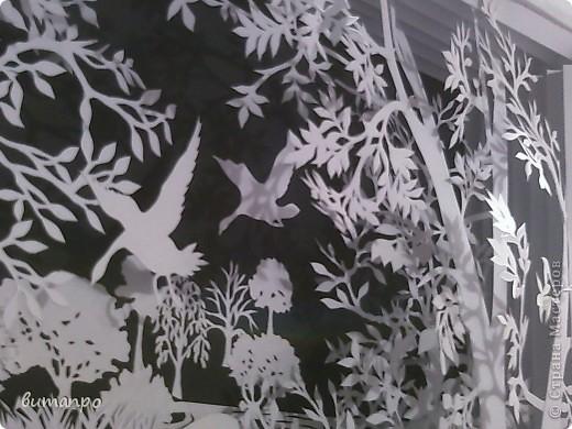 Картина панно рисунок Валентинов день День матери День рождения День семьи Бумажный туннель Вырезание Сказочный пейзаж   Бумага Картон Клей фото 21