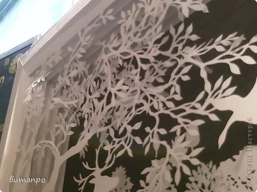 Картина панно рисунок Валентинов день День матери День рождения День семьи Бумажный туннель Вырезание Сказочный пейзаж   Бумага Картон Клей фото 28