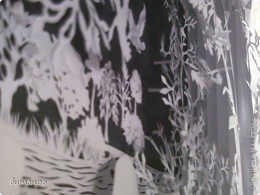 Картина панно рисунок Валентинов день День матери День рождения День семьи Бумажный туннель Вырезание Сказочный пейзаж   Бумага Картон Клей фото 30