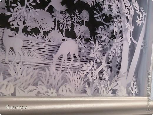 Картина панно рисунок Валентинов день День матери День рождения День семьи Бумажный туннель Вырезание Сказочный пейзаж   Бумага Картон Клей фото 33