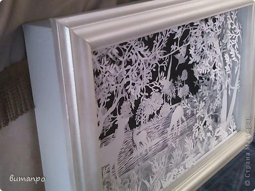 Картина панно рисунок Валентинов день День матери День рождения День семьи Бумажный туннель Вырезание Сказочный пейзаж   Бумага Картон Клей фото 35