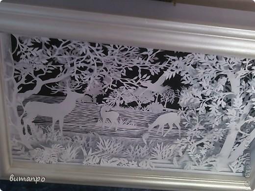 Картина панно рисунок Валентинов день День матери День рождения День семьи Бумажный туннель Вырезание Сказочный пейзаж   Бумага Картон Клей фото 36