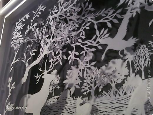 Картина панно рисунок Валентинов день День матери День рождения День семьи Бумажный туннель Вырезание Сказочный пейзаж   Бумага Картон Клей фото 38