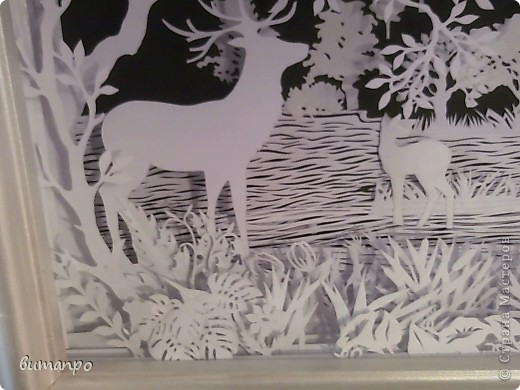Картина панно рисунок Валентинов день День матери День рождения День семьи Бумажный туннель Вырезание Сказочный пейзаж   Бумага Картон Клей фото 39