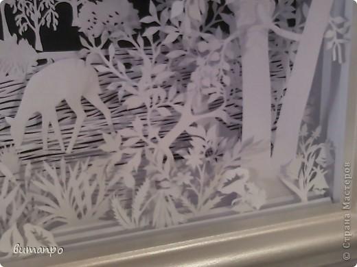 Картина панно рисунок Валентинов день День матери День рождения День семьи Бумажный туннель Вырезание Сказочный пейзаж   Бумага Картон Клей фото 40