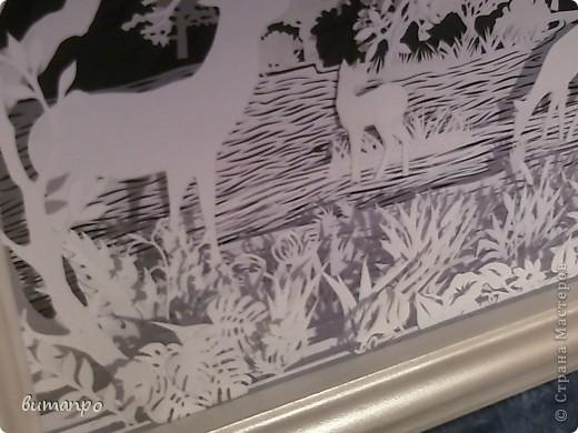 Картина панно рисунок Валентинов день День матери День рождения День семьи Бумажный туннель Вырезание Сказочный пейзаж   Бумага Картон Клей фото 42