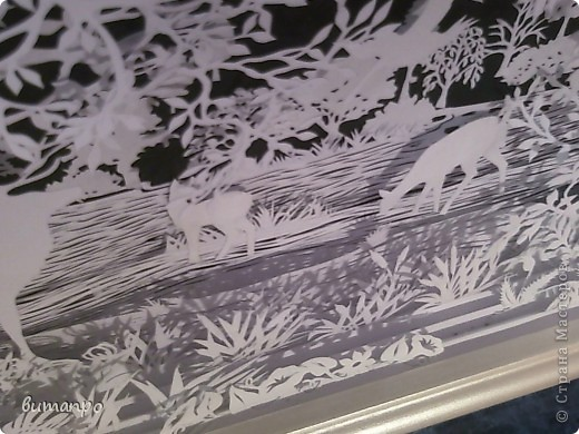 Картина панно рисунок Валентинов день День матери День рождения День семьи Бумажный туннель Вырезание Сказочный пейзаж   Бумага Картон Клей фото 43
