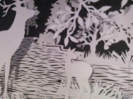 Картина панно рисунок Валентинов день День матери День рождения День семьи Бумажный туннель Вырезание Сказочный пейзаж   Бумага Картон Клей фото 47