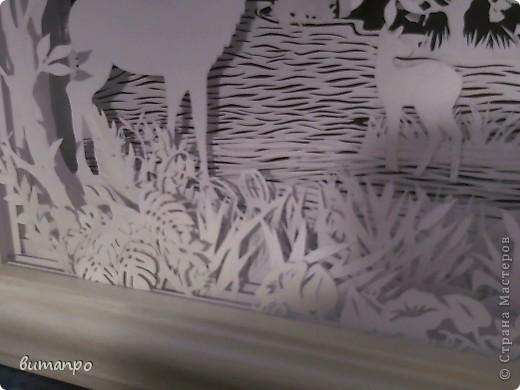 Картина панно рисунок Валентинов день День матери День рождения День семьи Бумажный туннель Вырезание Сказочный пейзаж   Бумага Картон Клей фото 48