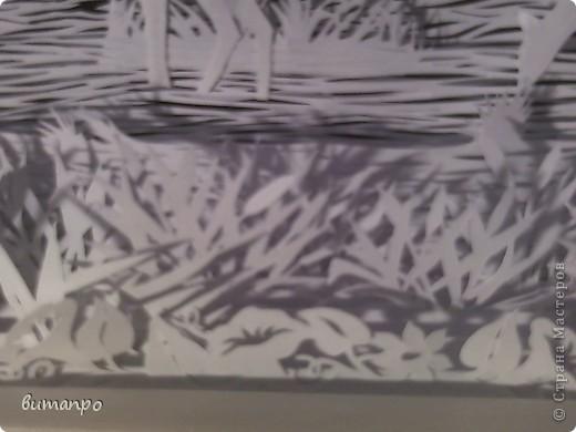 Картина панно рисунок Валентинов день День матери День рождения День семьи Бумажный туннель Вырезание Сказочный пейзаж   Бумага Картон Клей фото 51