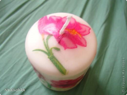 Покажу мою первую свечку со всех сторон )) фото 5