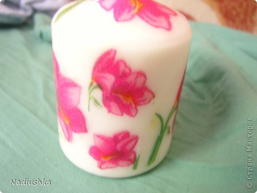 Покажу мою первую свечку со всех сторон )) фото 2