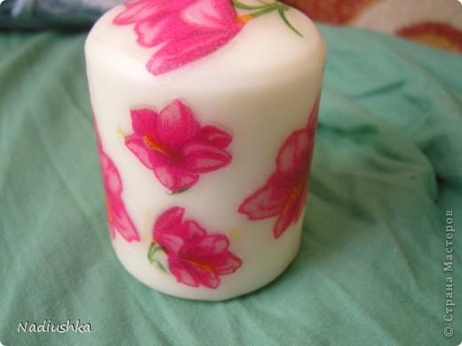 Покажу мою первую свечку со всех сторон )) фото 4
