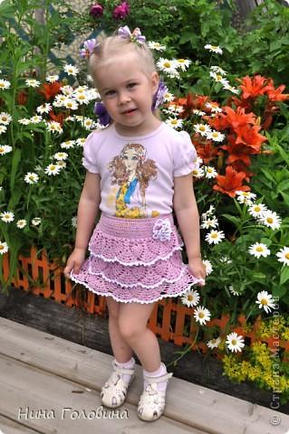 юбка для внучки