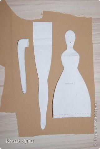 Вот такую невесту я сшила на свадьбу подруге) (жених в процессе) Хочу поделиться своим способом изготовления подобных кукол. Это мой первый мастер-класс поэтому не судите строго) фото 2