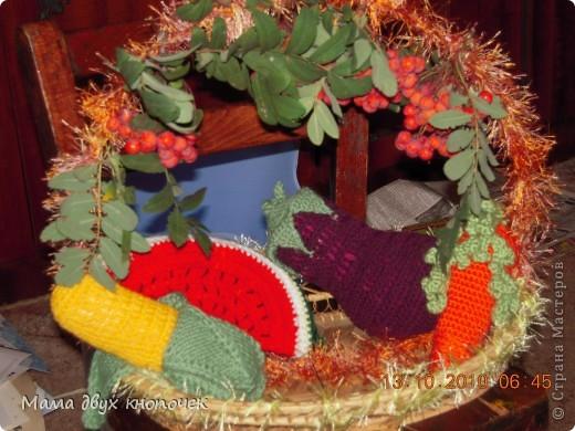 Вязание овощи фото 1