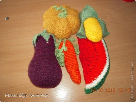 Вязание овощи фото 14