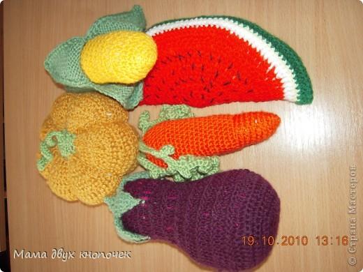 Вязание овощи фото 12