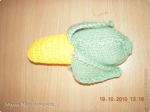 Вязание овощи фото 9