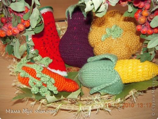 Вязание овощи фото 13