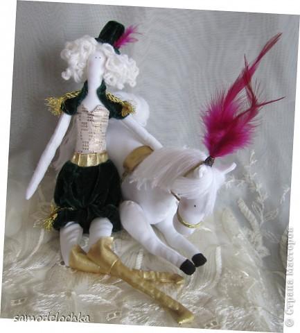Дрессировщица Ева и Конь Апполон