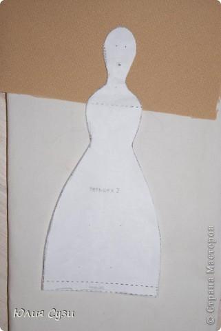 Вот такую невесту я сшила на свадьбу подруге) (жених в процессе) Хочу поделиться своим способом изготовления подобных кукол. Это мой первый мастер-класс поэтому не судите строго) фото 3