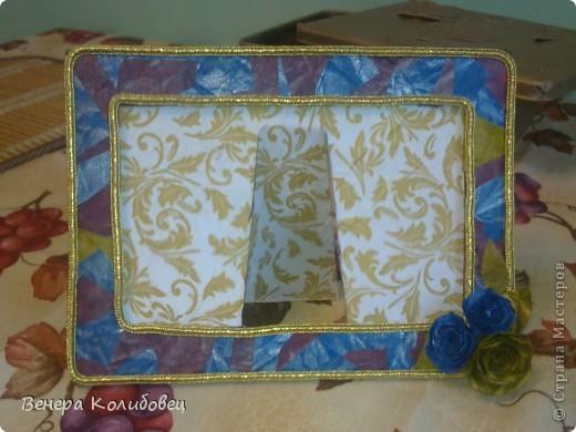 Рамка для мамы (первая работа) фото 3