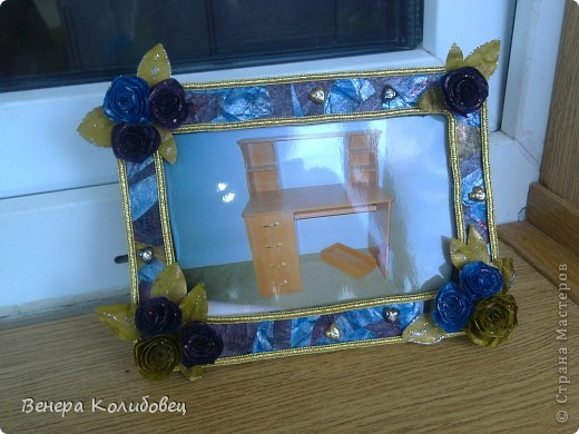 Рамка для мамы (первая работа) фото 2