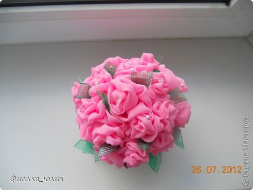 Розовый куст фото 2